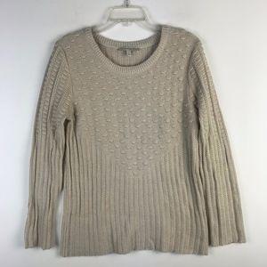 41Hawthorn Crew Knit Texture Sweater #575